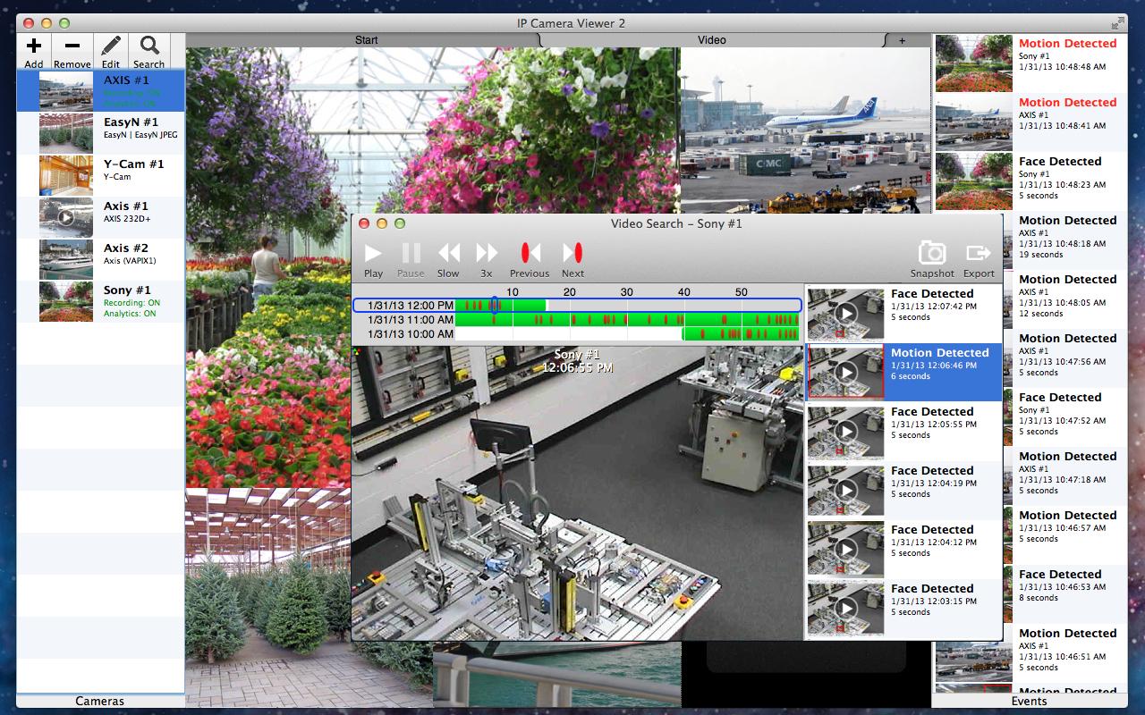 Ip Camera Control Software Mac