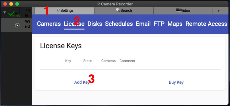 How to activate a License Key