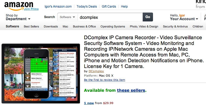 IP Camera Recorder | DComplex LLC | Page 2